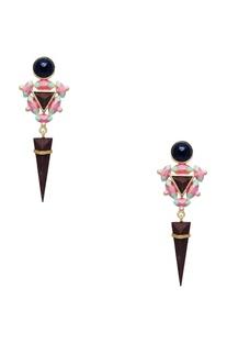 3D handcrafted earrings