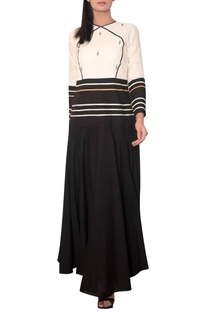 Floor length maxi dress