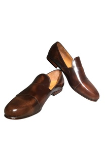 Handcrafted pure leather d-monk formal shoes