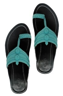 Leather kolhapuri sandals