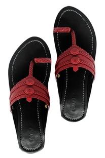 Leather kolhapuri sandals