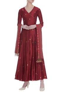 Banarasi silk kurta set
