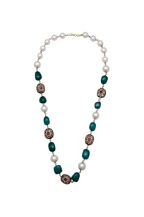 Necklace with semi precious stones