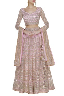 Gota embroidered lehenga set