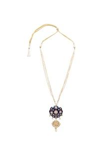 Meenakari jadau necklace