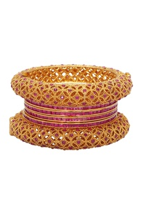 Traditional rajputana bangle set