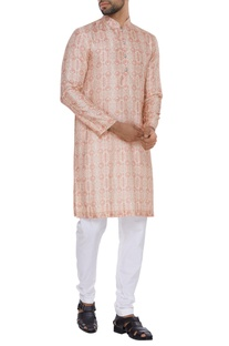 Vintage coin printed kurta set