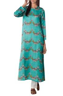 Long kurta with side slit