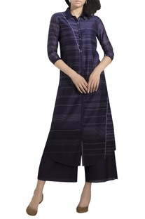 Digital printed kurta with palazzo pants