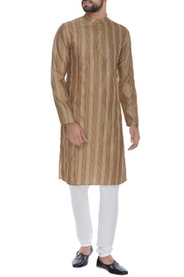 Thread work kurta set