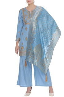 Gota embroidered kurta set