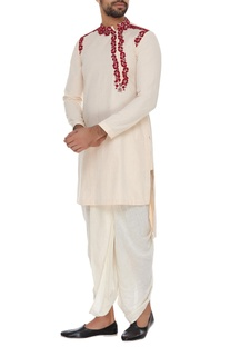 Embroidered short kurta
