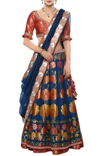 Gota & dori embroidered lehenga set