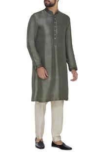 Dupion silk classic kurta