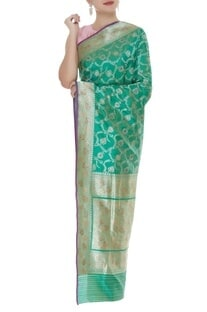 Handwoven banarasi sari