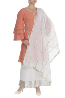 Bell sleeves kurta set