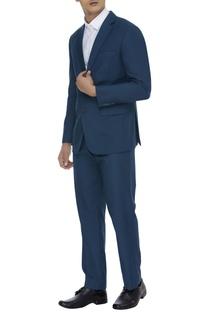 Wool blend suit set