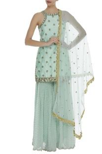 Sequin embroidered kurta Sharara Set