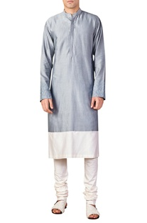 Color Block Kurta
