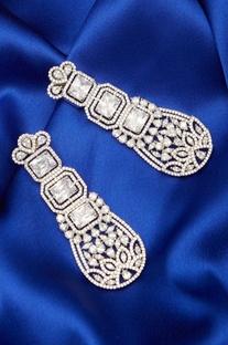 Stone Encrusted Dangler earrings