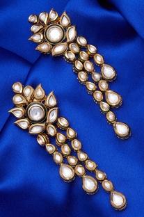 Kundan Dangler earrings