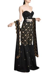 Embellished & plexus skein work sharara