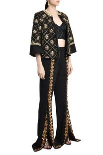Mughal & edo skein work pants