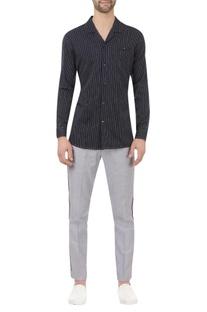 Striped regular fit shirt