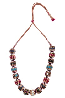 Dholak princess necklace