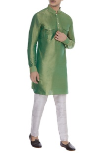Kurta with patch pockets