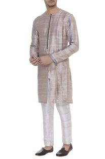 Zippered classic kurta
