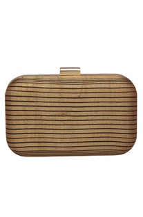 Striped clutch box