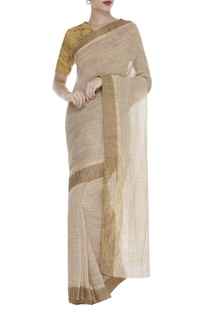 Linen Textured Saree