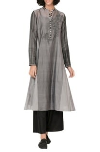 Full Sleeves Embroidered Tunic