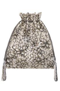 Japanese Bugle Bead Embroidered Potli Bag