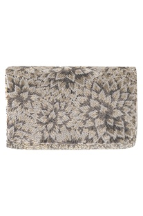 Japanese Bead Embroidered Clutch