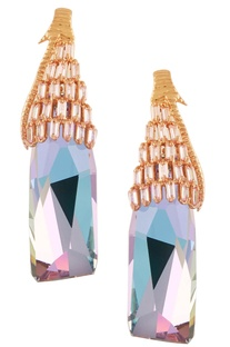 Icicle dangle earrings