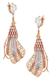 Enchanted crystal earrings