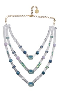 Handcrafted layered necklace