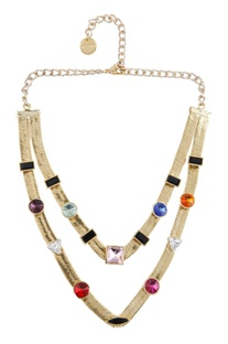 Dual layered necklace