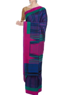 banarasi-silk-woven-saree-with-unstitched-blouse