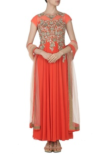 coral-zardosi-embroidered-kurta-set