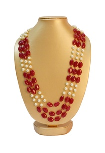 deep-pink-stone-pearl-necklace