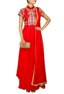 red-zardosi-embroidered-anarkali-set
