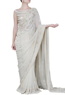 cream-floral-embellished-sari-with-blouse