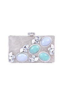 silver-and-turquoise-embellished-clutch