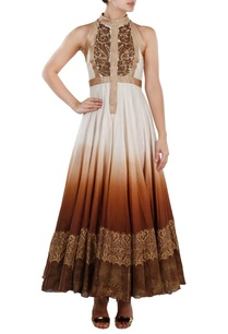 ivory-and-brown-ombre-embroidered-gown