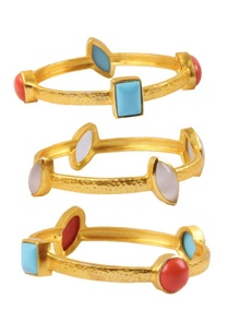 gold-plated-bangles-with-semi-precious-stones