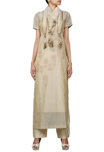 beige-shaded-floral-embroidered-kurta-set-with-stole