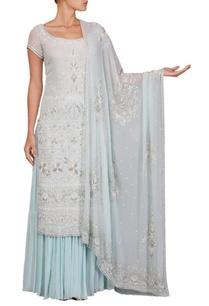 pale-blue-bead-embellished-kurta-set